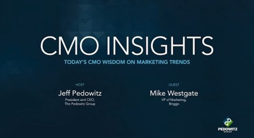CMO Insights: Mike Westgate, VP of Marketing, Briggo
