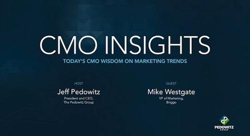 CMO Insights: Mike Westgate, VP of Marketing, Briggo