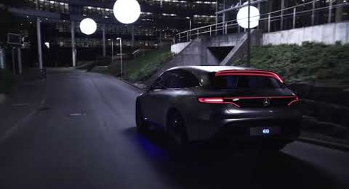 Built with Qt | 梅赛德斯奔驰Concept EQ概念车