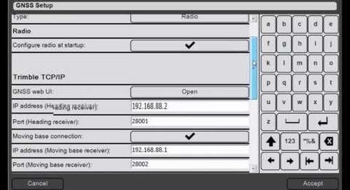 5. Trimble DPS900 V1.2 - GNSS Setup: Using Radio Corrections (900 MHz)