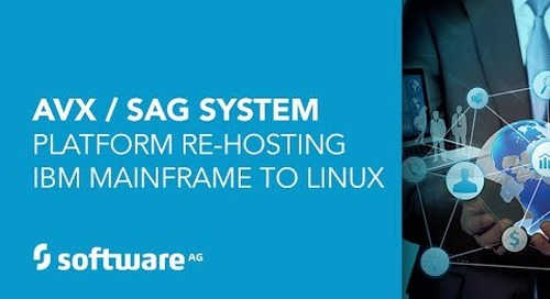 Webinar: From mainframe to Linux® at AVX