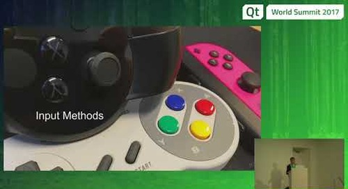 QtWS17 - Creating User Interfaces for Virtual Reality with Qt, Andy Nichols, The Qt Company