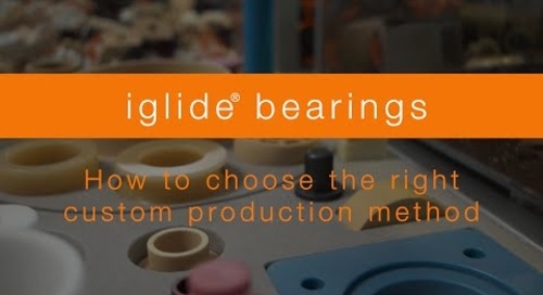 How to choose the right custom bearing production method