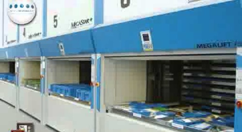 Automated Storage Carousels | ASRS Vertical Lift Modules | Space Saving Parts Shelving
