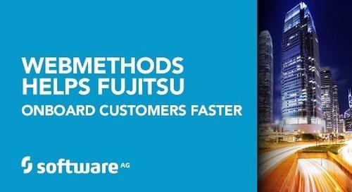 Fujitsu onboards customers 30% faster