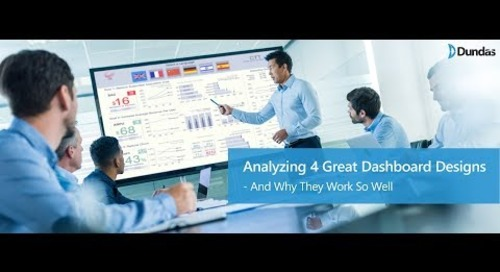 Analyzing 4 Great Dashboard Designs – Why Do They Work So Well
