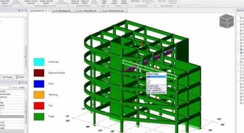 Tekla Structural Designer Concrete Beam Design