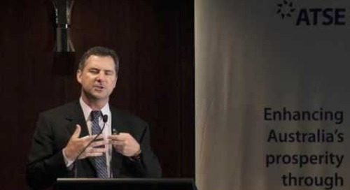 ATSE 2016 New Fellow: Dr Larry Marshall FTSE
