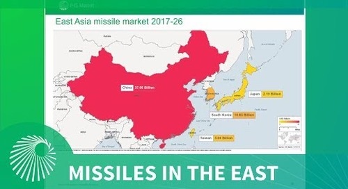 Intel Briefing: Missiles in the East - An examination of the 2017-26 East Asia missile market