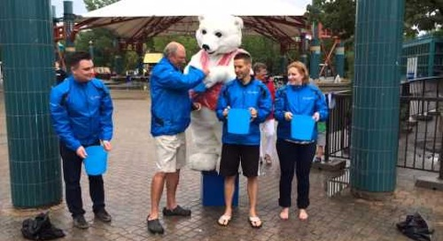 Travel Manitoba takes the #ALSIceBucketChallenge