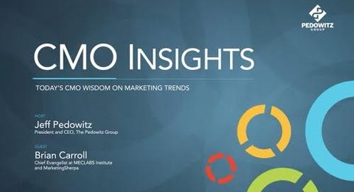 CMO Insights: Brian Carroll, MECLABS Institute, MarketingSherpa