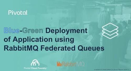 Blue-Green Deployment of Applications leveraging RabbitMQ