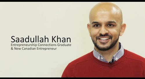 Saad's story: A newcomer entrepreneur in Canada