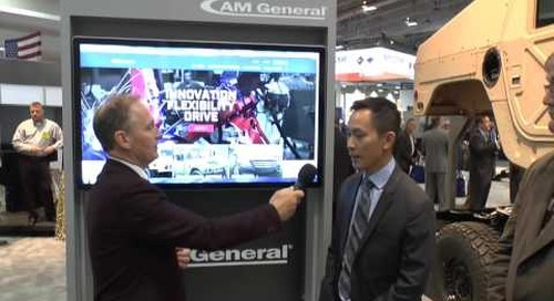 AUSA 2016: AM General - military programmes update