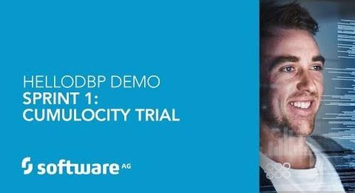Hello DBP – Sprint 1 – Cumulocity trial