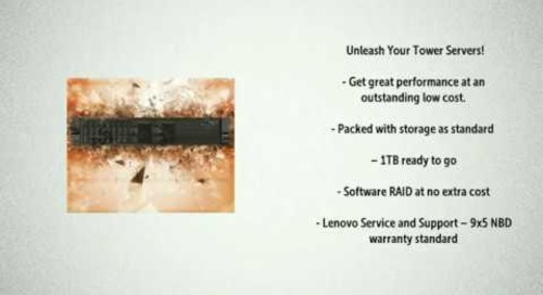 Lenovo Servers Introduces: Unleashed