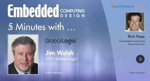 Five Minutes With… Jim Walsh, CTO, Global Logic