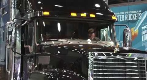 Mack Trucks at the Mid-America Trucking Show - Day 2