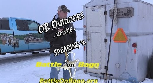 2016 Lake Winnebago Sturgeon Spearing and Battle on Bago Update