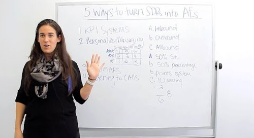 5 Ways To Turn SDRs to AEs (Before Becoming Closers) (ft. Becc Holland)