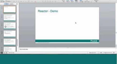 Webinar: Reactor