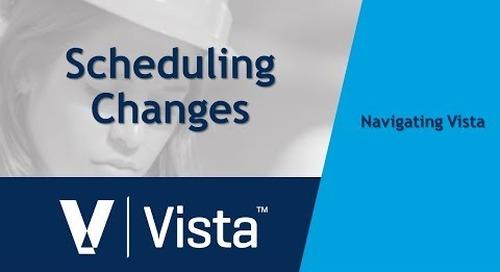 Scheduling Changes