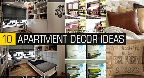 10 Apartment decor ideas