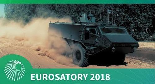 Eurosatory 2018: Patria launches new 6x6 APC