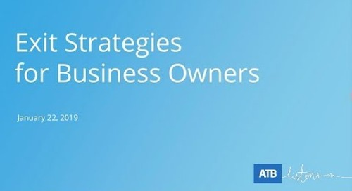 ATB | Exit Strategies For Business Owners