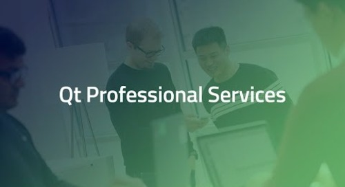 Qt Professional Services