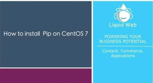 How to Install Pip on CentOS 7
