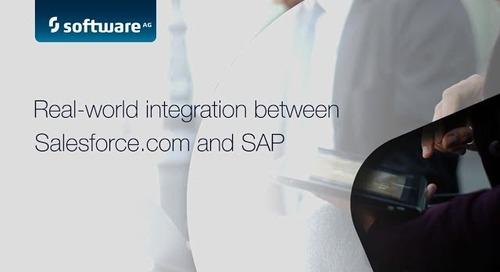 Demo: Real-world integration between Salesforce.com® & SAP