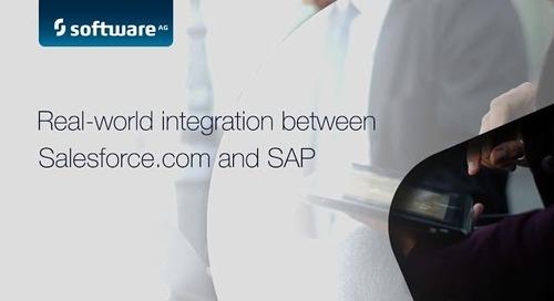 Demo: Real-world integration between Salesforce.com® & SAP