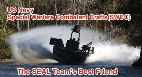 US Navy Special Warfare Combatant Craft (SWCC): The Navy SEAL's Best Friend