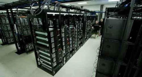 Time Lapse HD Video: Datacenter Timelapse Construction Video