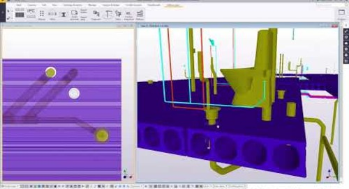 Tekla Structures for hollow-core floors