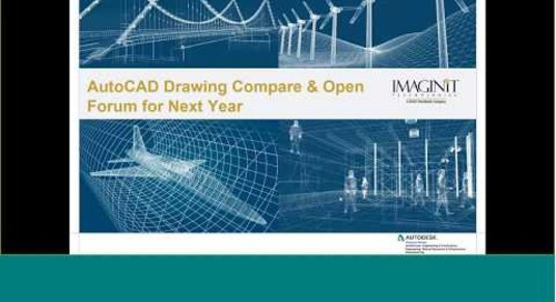 DWG compare feature included with AutoCAD/AutoCAD LT 2019