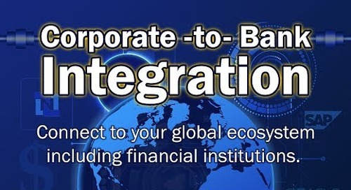 Webinar: Corporate to Bank Integration