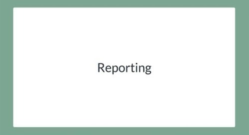 Communicate and Report Results