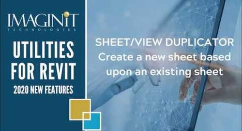 Utilities for Revit: Sheet View Duplicator