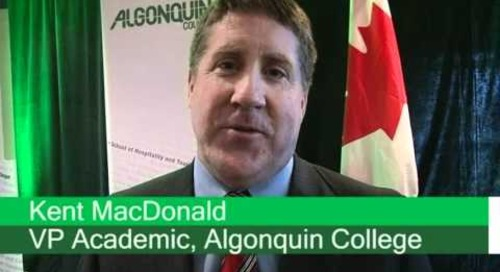 Algonquin College launches Bachelor of Hospitality and Tourism Management program - May 17, 2011