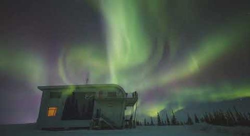 Northern Lights in Churchill, Manitoba, Canada