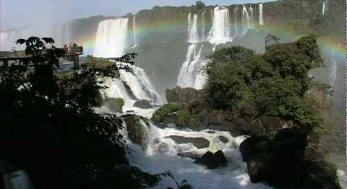 A Scene from Iguazu Falls