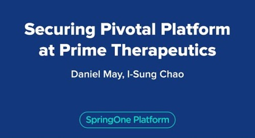 Securing Pivotal Platform at Prime Therapeutics