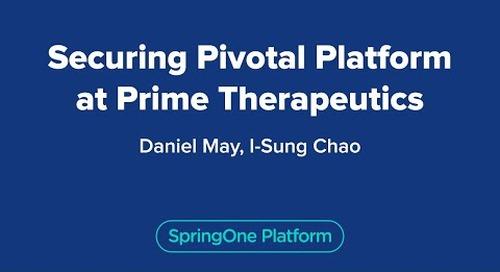 Securing Pivotal Platform at Prime Therapeutics