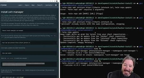 Installing Harbor on Kubernetes with Project Contour and Cert Manager with Paul Czarkowski