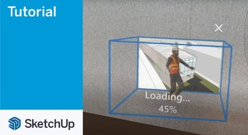 SketchUp Viewer for Hololens 2 05 Open