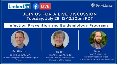 Infection Prevention and Epidemiology Education Programs