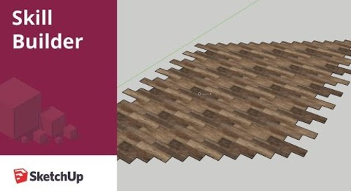 [Skill Builder] How to create custom tiling material in SketchUp