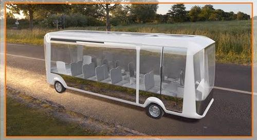 Motion plastic solutions in public transportation